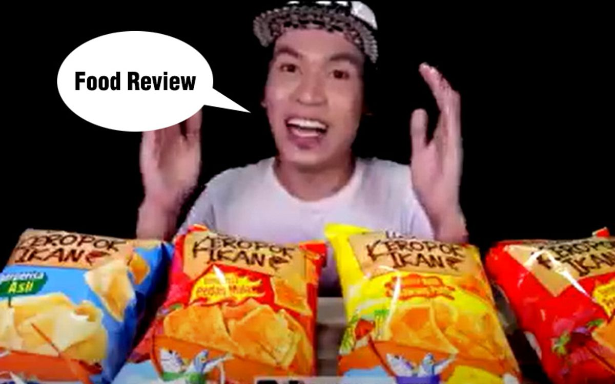 Food Review: Fish Crackers