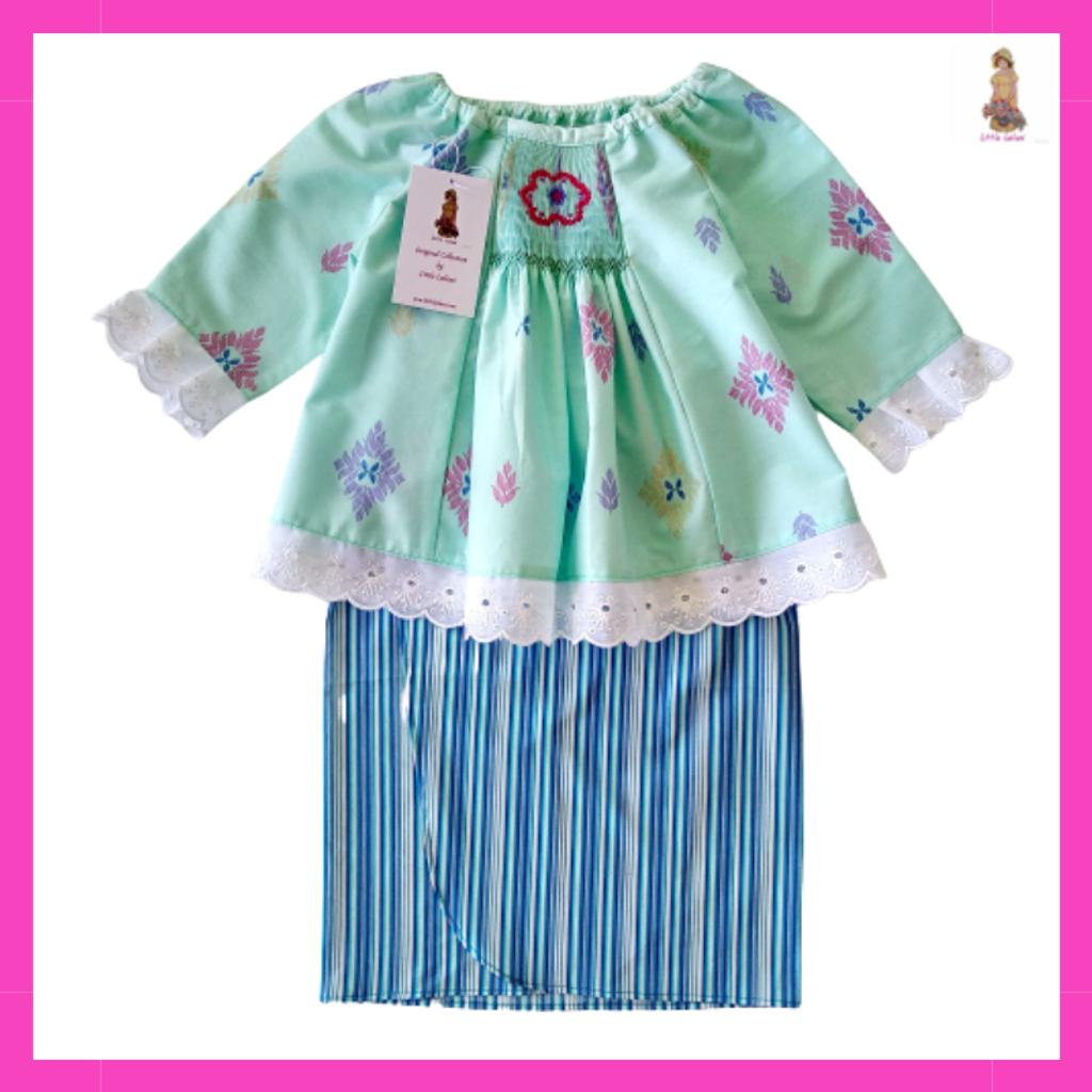 Baju Kurung Smocking Blue Little Leilani 1.png