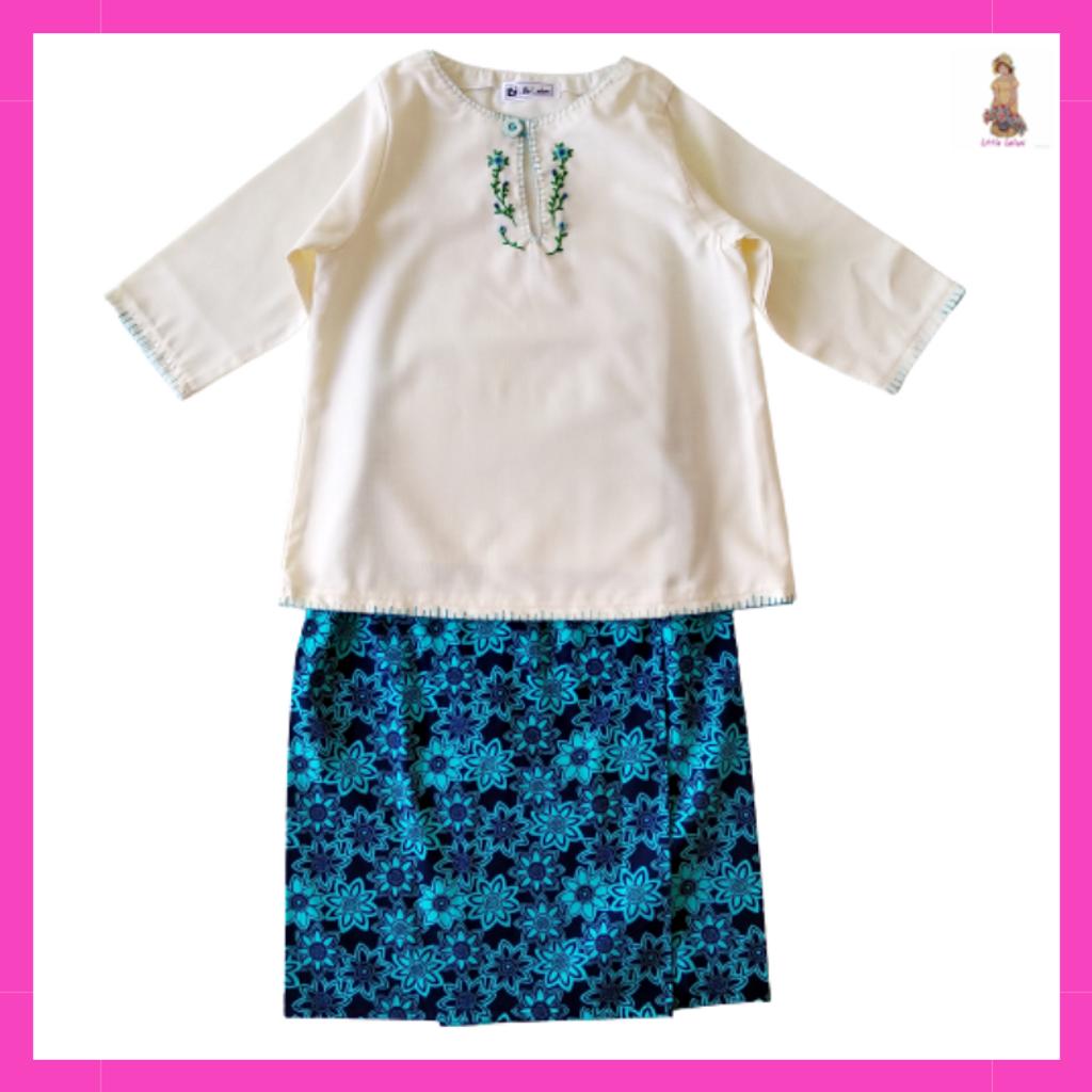 Little Leilani Baju Kurung Embroidery Dark Blue .png