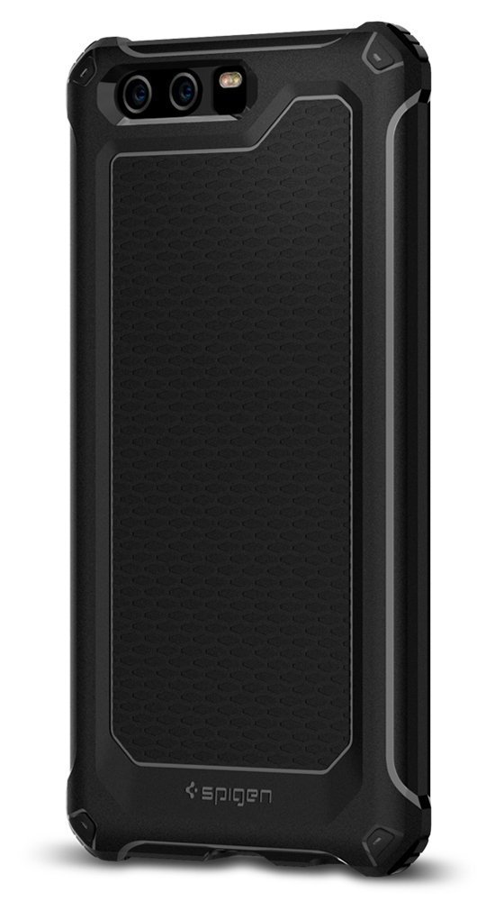 release date: d68d8 c7f73 Spigen TPU Rugged Armor EXTRA Series Anti-Shockproof Phone Case for Huawei  P10 Plus (Black)