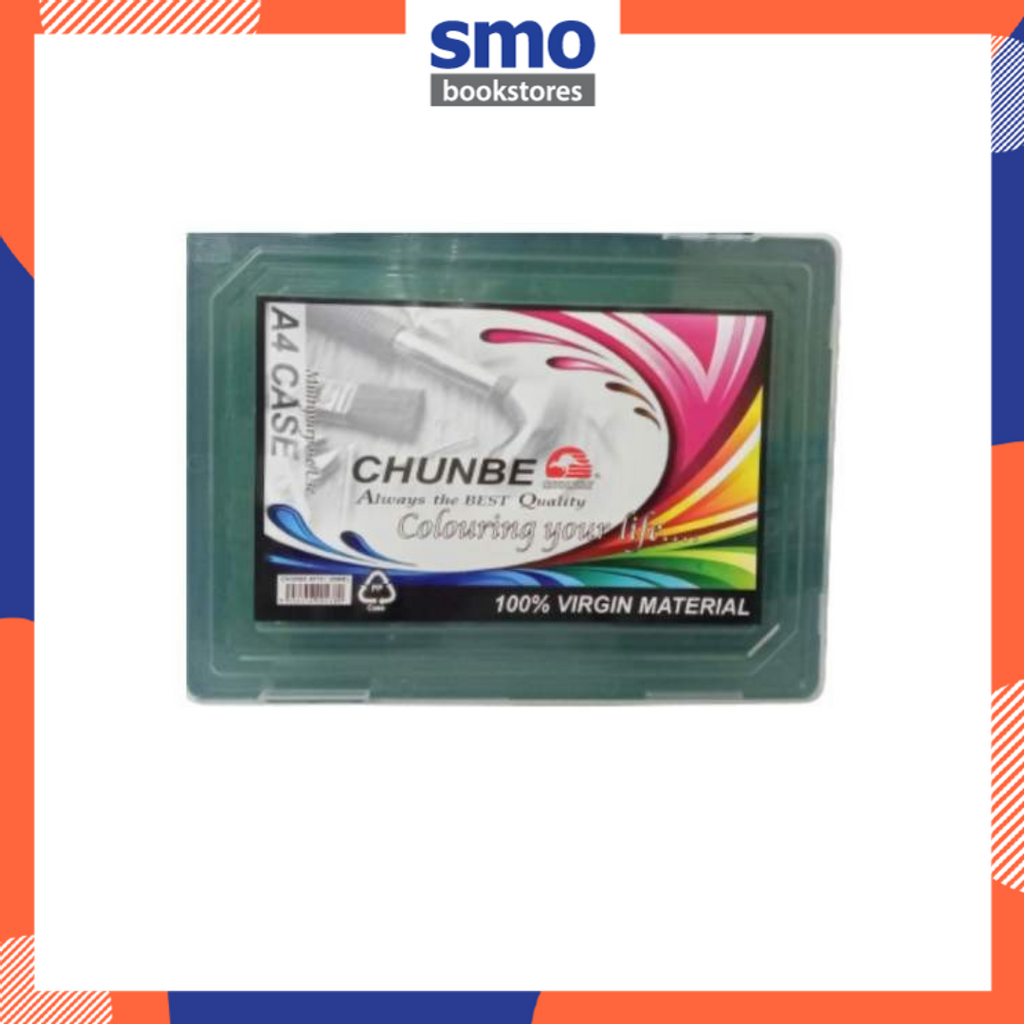 CHUNBE A4 20MM DOCUMENT CASE GREEN.png