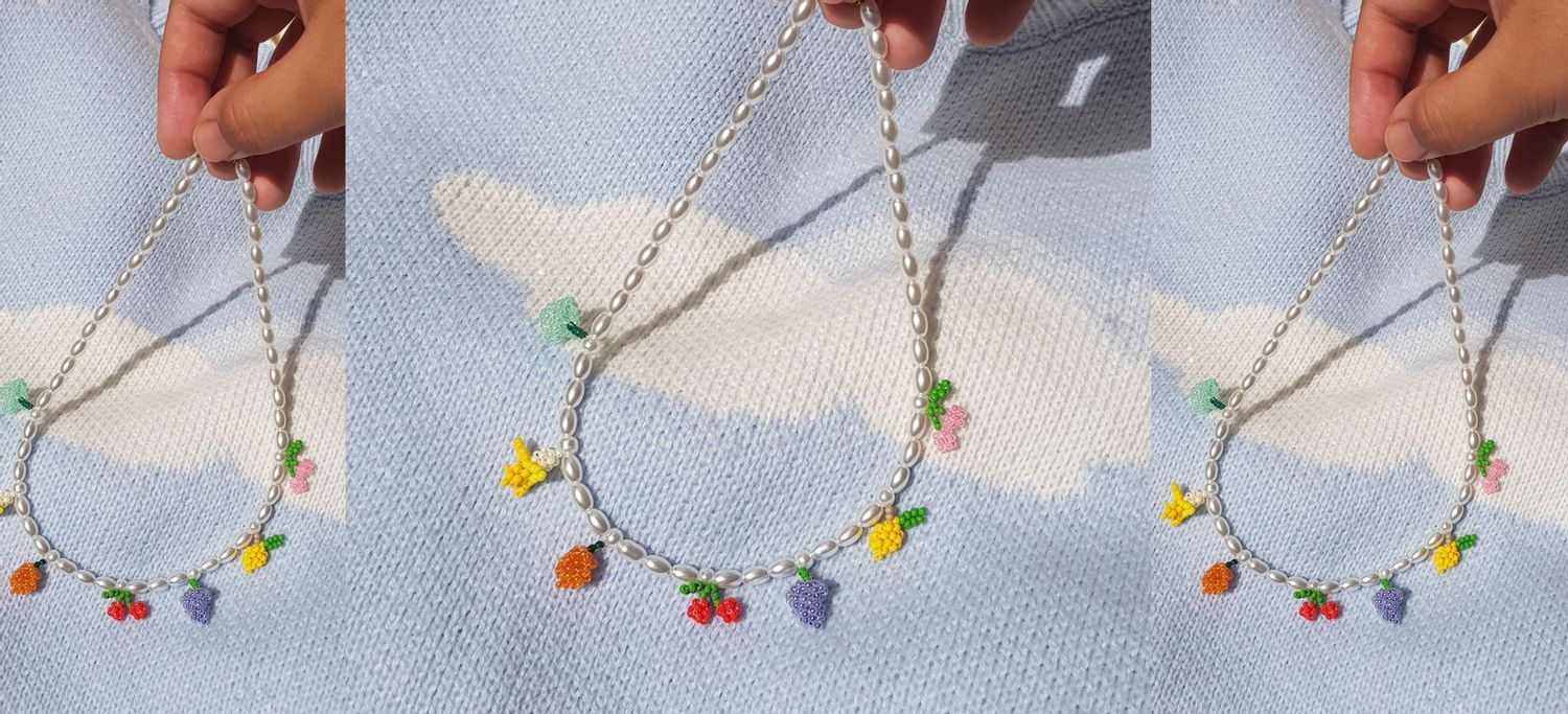 Beadclassic | picnic necklace