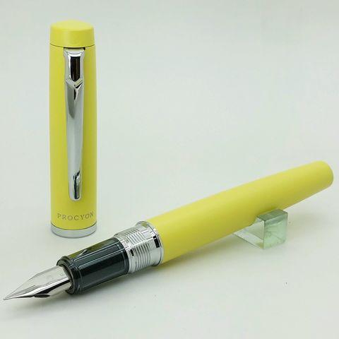 鋼筆工作室 Platinom 白金 Procyon 南河三 黃桿鋼筆.jpg