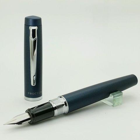 鋼筆工作室 Platinom 白金 Procyon 南河三 深藍鋼筆2.jpg