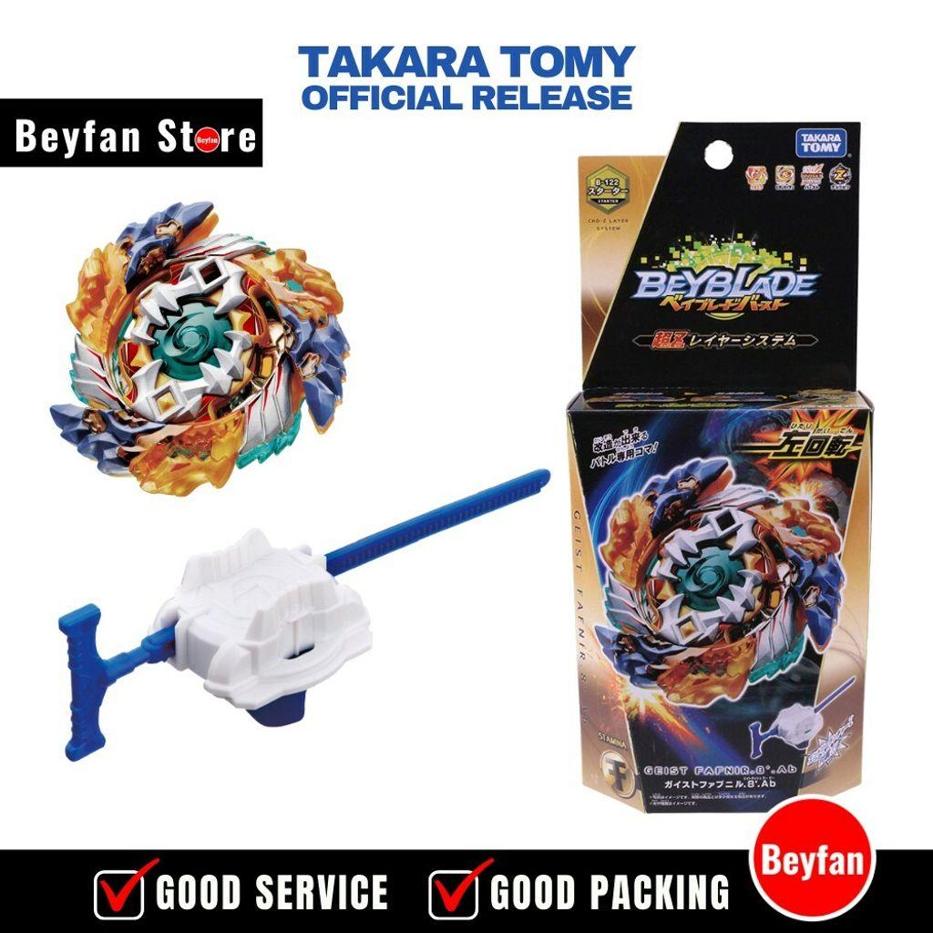 Takara Tomy Beyblade BURST B-122 Starter Geist Fafnir.8`.Ab