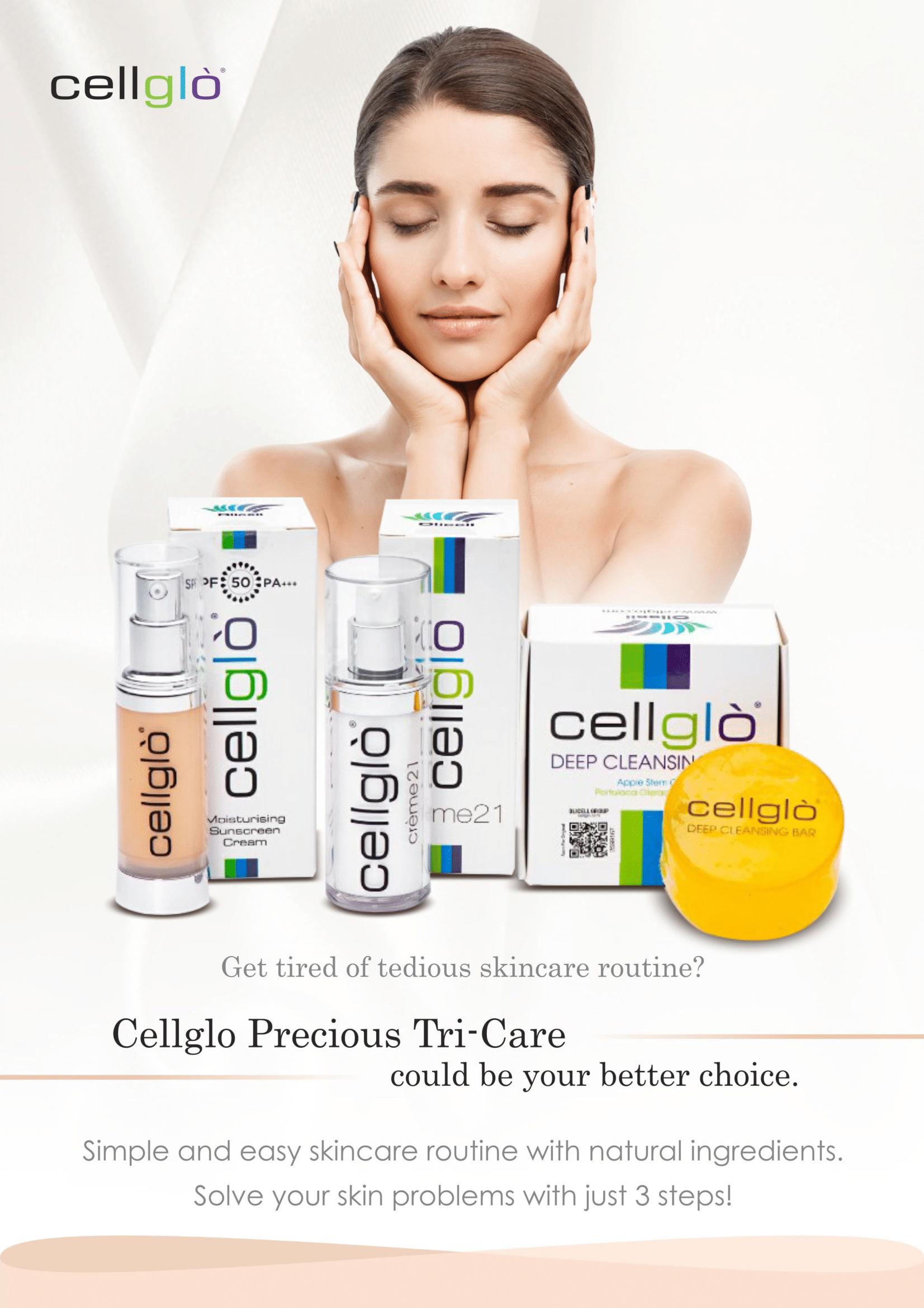 Cellglo Moisturising Sunscreen Info 1