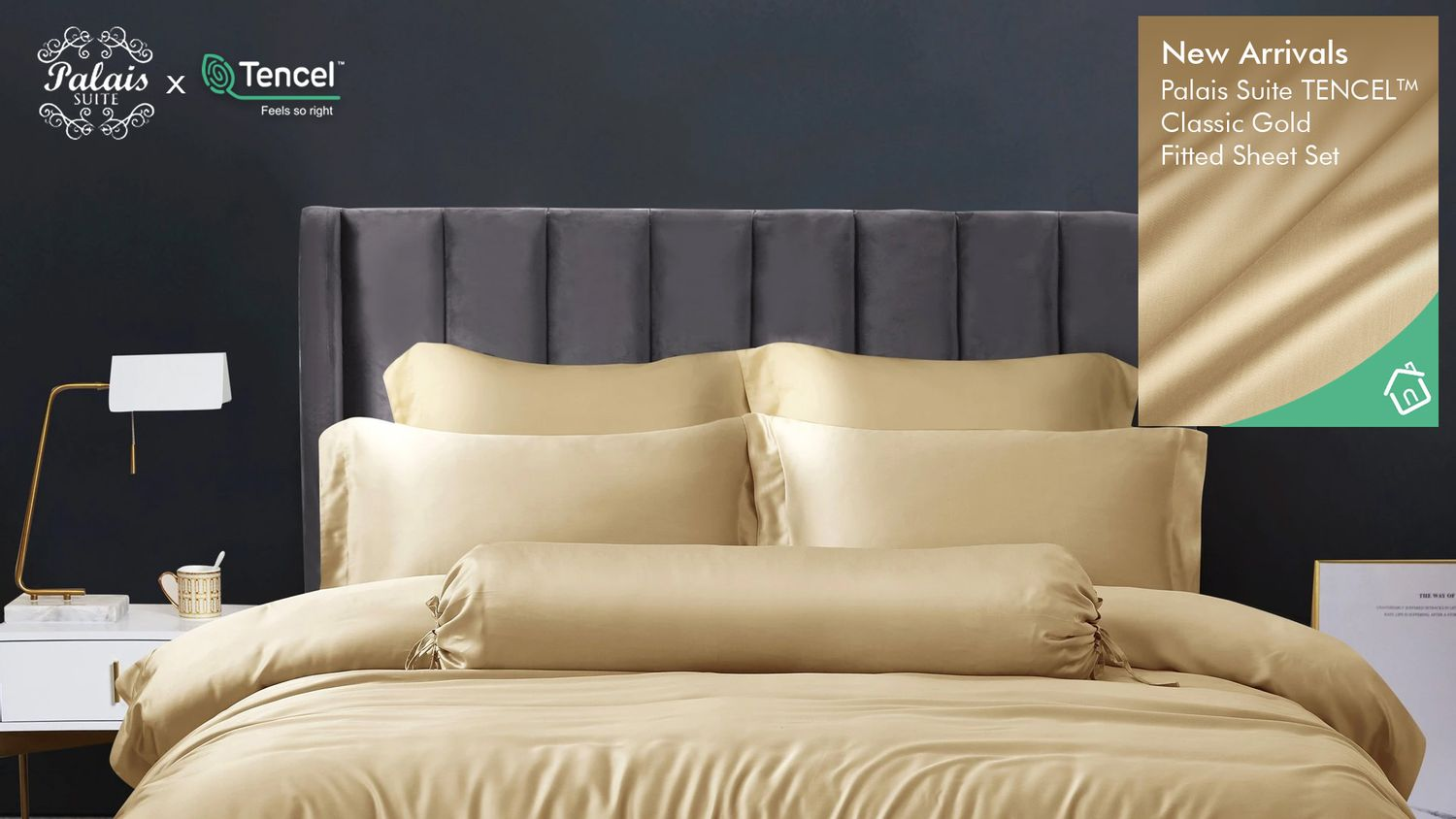 Bedding Affairs Malaysia | For All Your Bedding Needs | Classic Gold Series