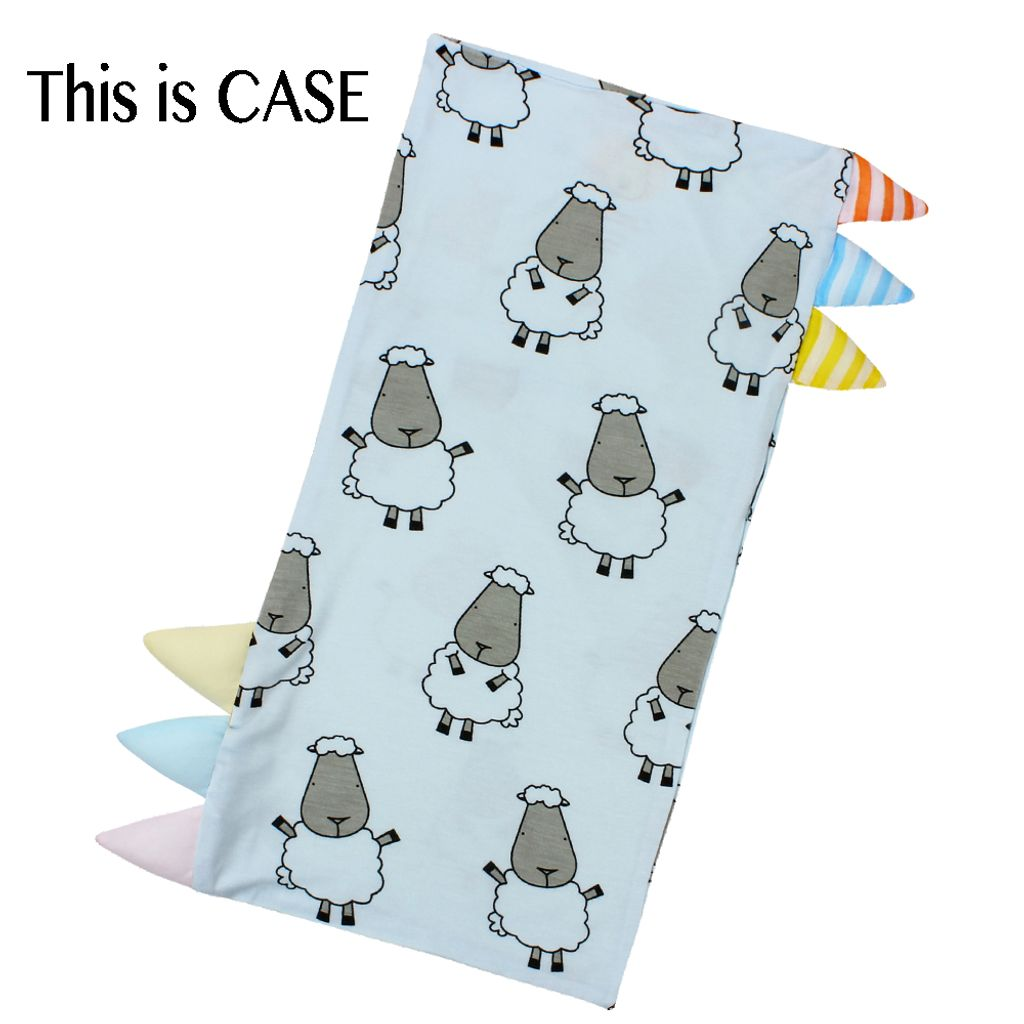Bed-Time Buddy Case Big Sheepz Blue with Color _ Stripe tag - Small.jpg