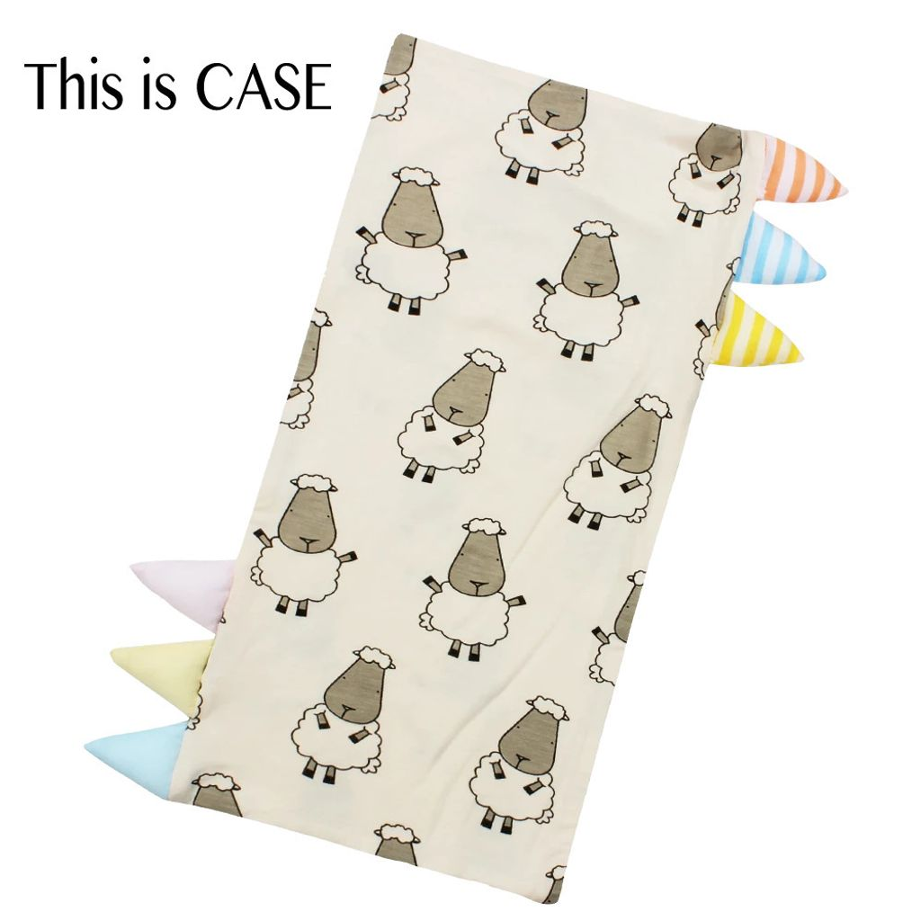 Bed-Time Buddy Case Big Sheepz Yellow with Color _ Stripe tag - Jumbo.jpg