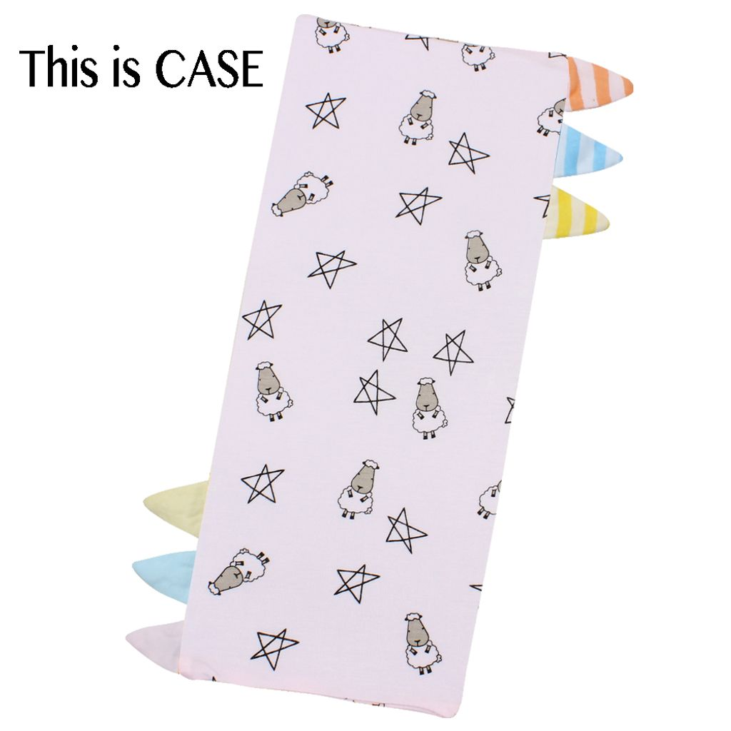 Bed-Time Buddy Case Small Star _ Sheepz Pink with Color _ Stripe tag - Small.jpg