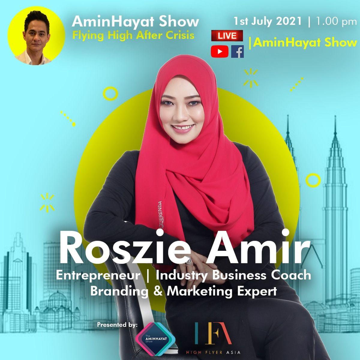 Watch Coach Roszie Amir in FB Live AminHayat Show