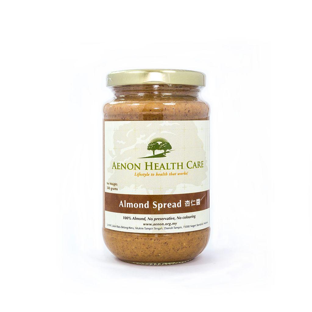 Pure Almond Spread 纯杏仁酱 340g