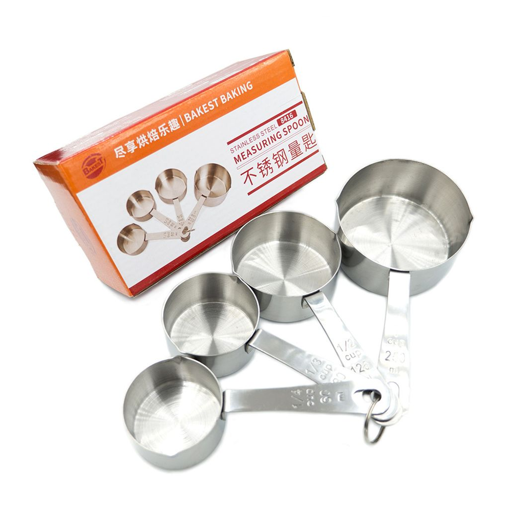 Stainless Steel Measuring Cups 不锈钢量杯