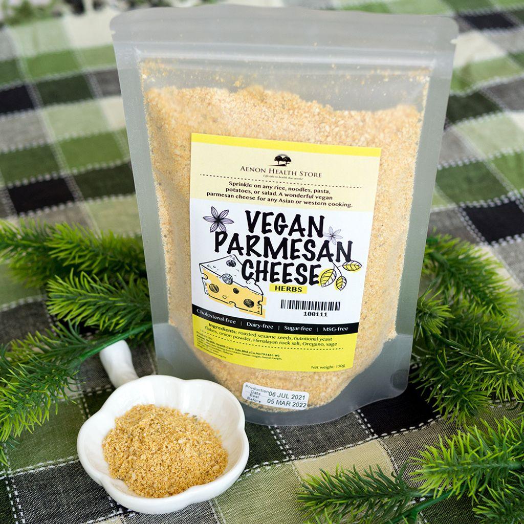 Vegan Parmesan Cheese, Herbs 素食草本芝士