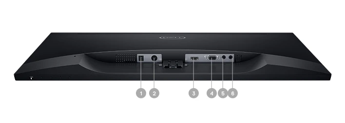 Dell S2718H Monitor – Connectivity Options