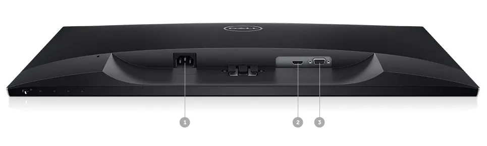 Dell SE2719H Monitor: Connectivity Options