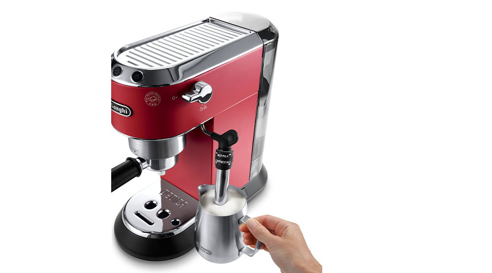Delonghi dedica style pump coffee machine core technology features 2
