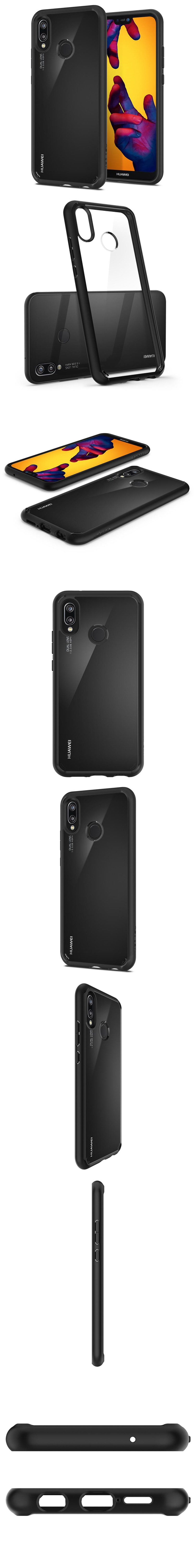 SPIGEN (Ori) Ultra Hybrid Clear case for Huawei Nova 3e