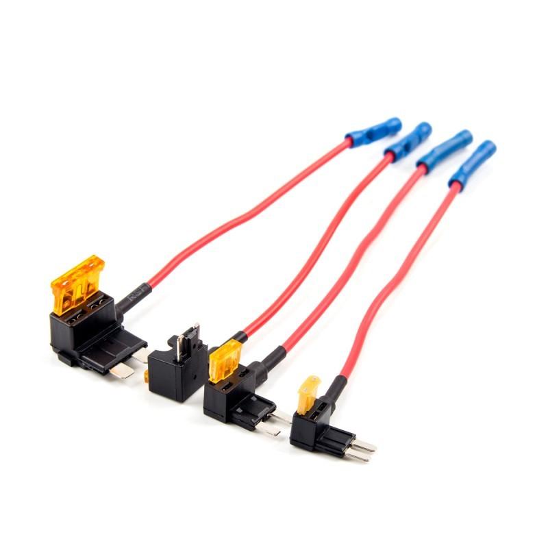 4pcs-circuit-fuse-tap-atc-ats-micro2-mini-adapter-holder