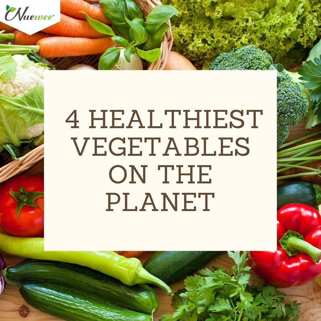 4 HEALTHIEST VEGETABLES ON THE PLANET
