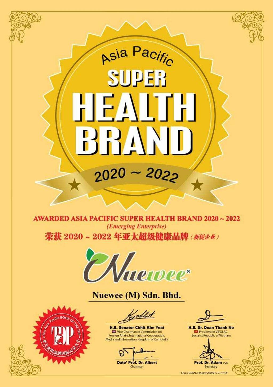 Nuewee- Certificate- Nuewee-super-health-brand.jpeg