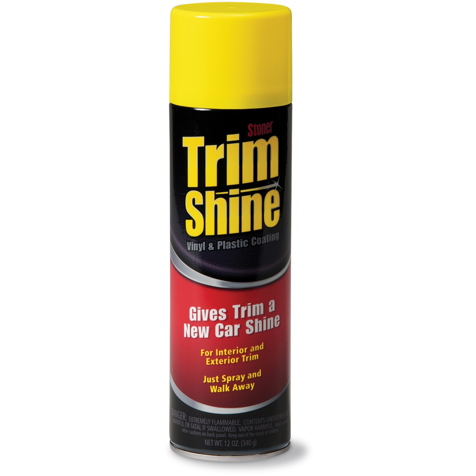Stoner Trim Shine Vinyl Amp Plastic Coating 12 Oz Autogeek